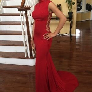 The Lady in Red